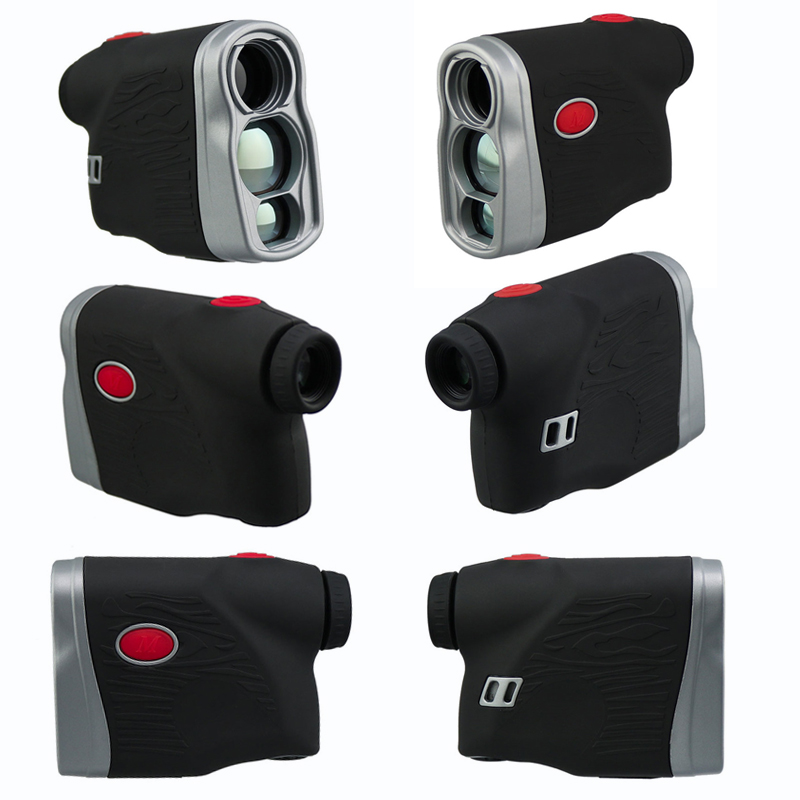 800 Meters Cheap price Laser Works 6x hunting laser range finder, Angle