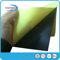 Black self adhesive pvc sheet for wedding photo album