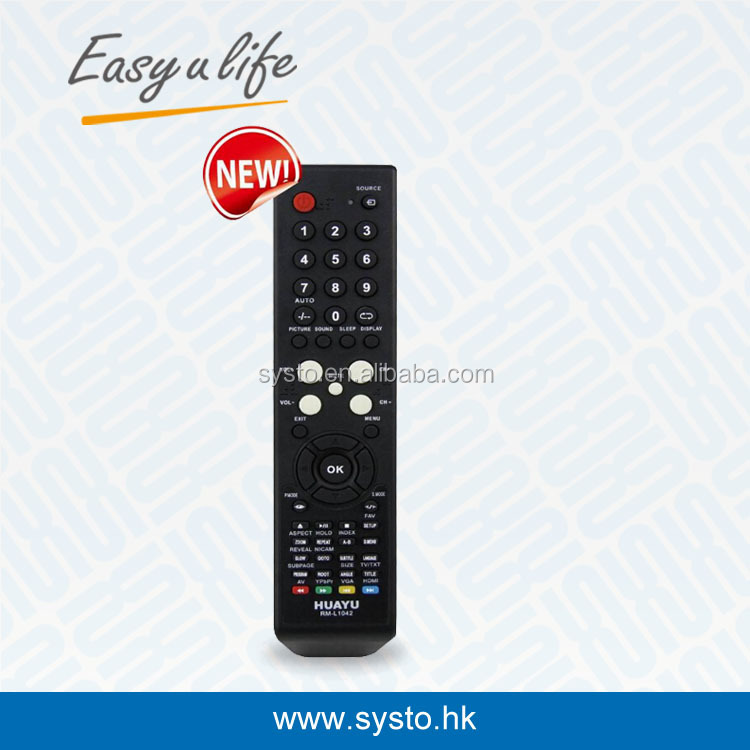HUAYU RM-L1042+ UNIVERSAL LCD REMOTE CONTROL FOR SUPPER/FUSION/HYUNDAI