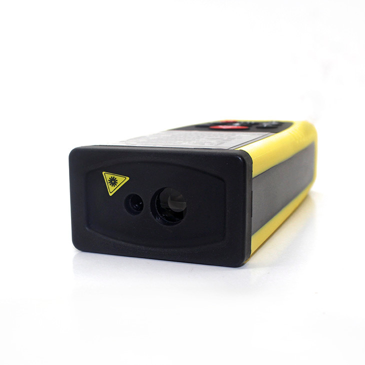 Handheld measure 40m laser level black and yellow cheap laser distance meter