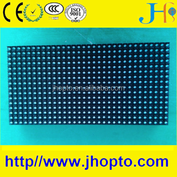 7500 nits 320*160mm RGB full color outdoor waterproof P10 led display module