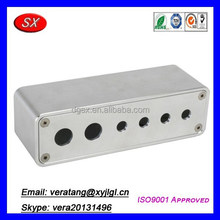 CNC Aluminum Switch Box With Switch Warning Light Holes