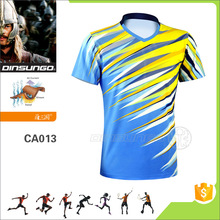 Customize sublimation badminton uniforms badminton jerseys sport wears DINSUNGO CA013