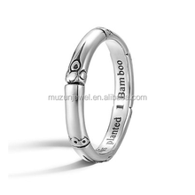 Bamboo Ring 925 Sterling Silver Ring
