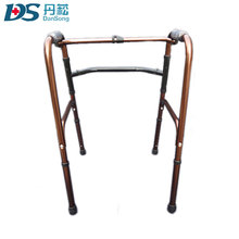 Medical relieve pain folding steel walking stick for disabled people