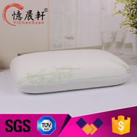 Supply all kinds of visco memory foam,cool gel memory foam pillow with spandex /polyeste