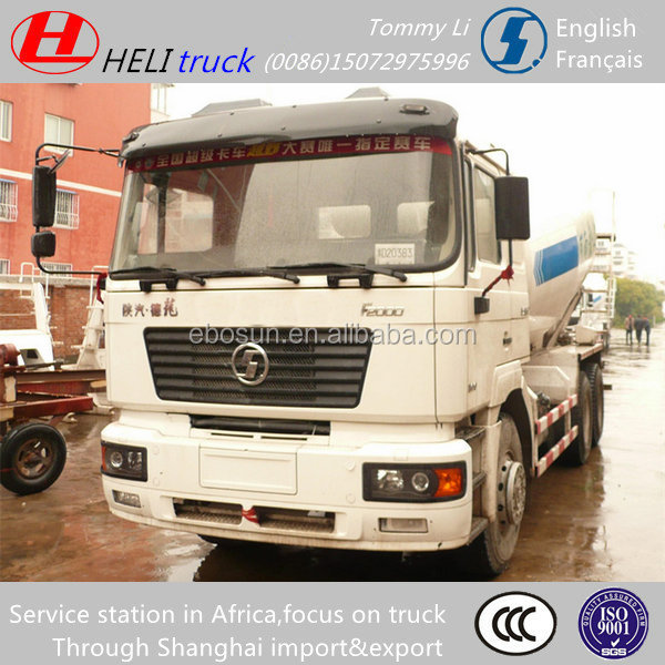 Africa service station self load concrete mixer truck