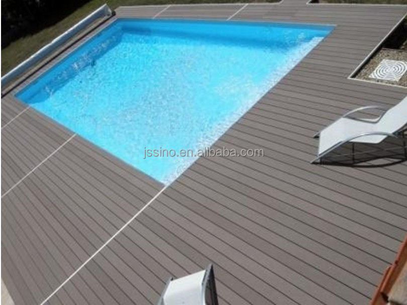 water resistant china supplier wpc decking for outdoor swimming pool