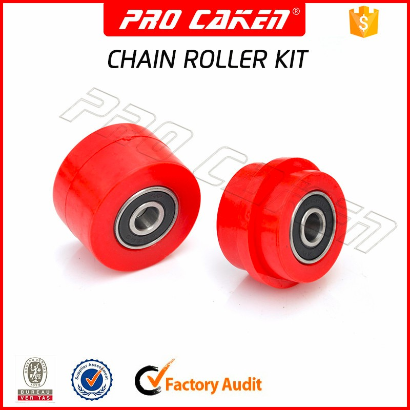 2016 hot selling motorcycle part chain guide tensioner roller