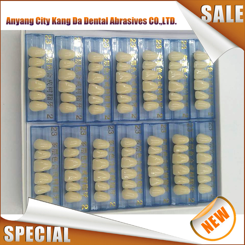 Dental False Synthetic acrylic resin teeth Kangda China