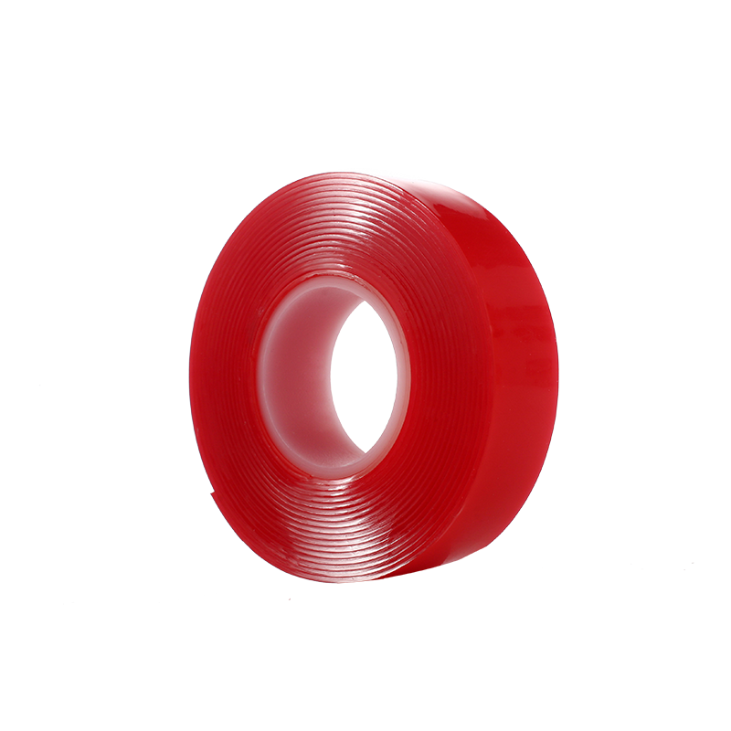 Waterproof Pressure Sensitive Red Acrylic Adhesive VHB Foam Tape