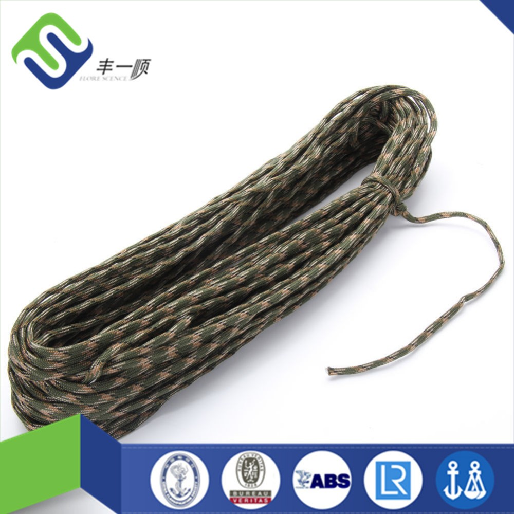 Hot Sale Nylon Braided Rope Parachute Cord Paracord 550