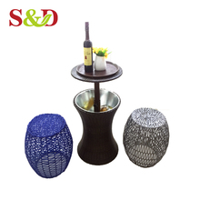 Outdoor Multifunction bucket beer coolers ice table