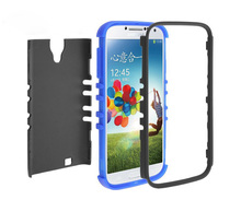 Made in china cell phone case for s4 ,combo case for Samsung S4 defender 2 in 1 hybrid combo case