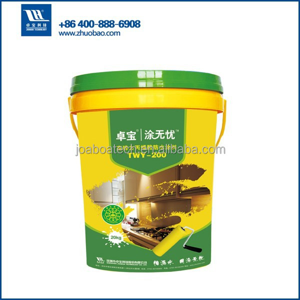 Acrylic Polymer Waterproof Coating for Steel/Concrete/Bituminous Roofing