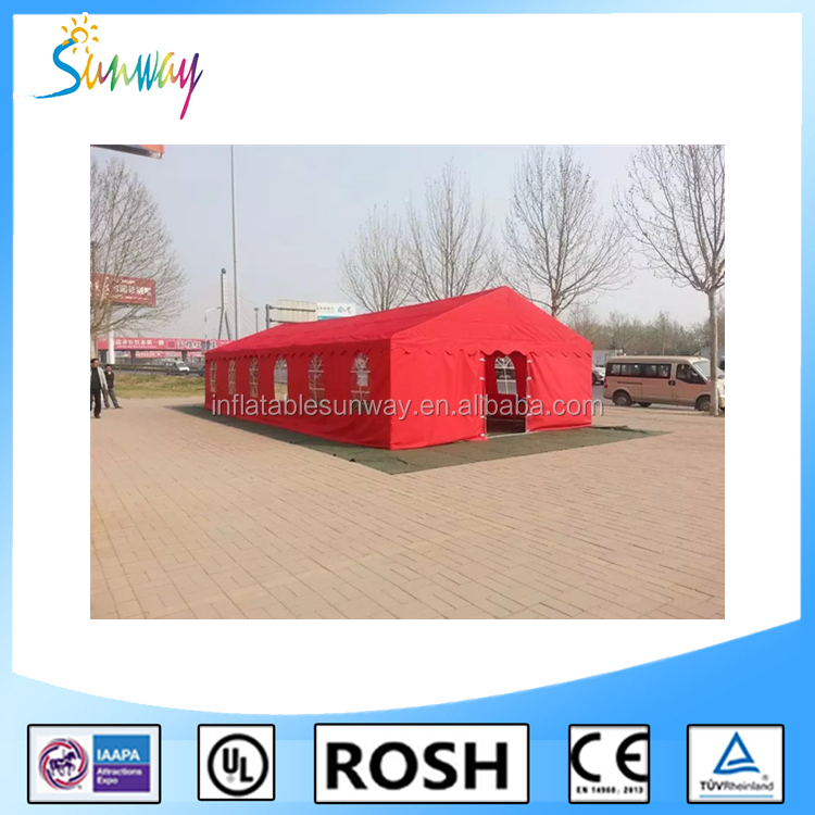 SUNWAY Heated Tents Camp Tents Military Used Army for Sale Small Wall Tents