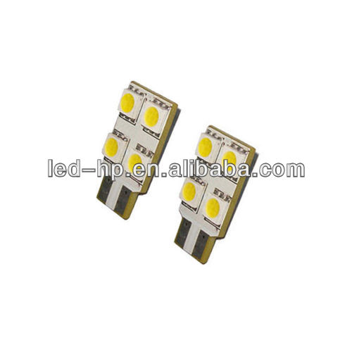 White LED 4SMD 5050 Side Light Bulbs T10/501 Canbus Error Free