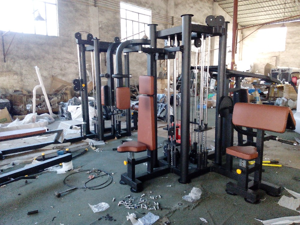 Hot-sale Multifunction home gym equipment/8 station multi gym/Fitness Weight Strength Equipment