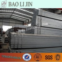 Q195 furniture steel square Tubing and Piping