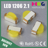 Super bright 2.1T 5000-6500K white side view 1204 1206 smd led diode