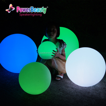 2016 outdoor Water Floating Colorful Flashing Led Light Ball For Promotion