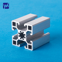 High quality extrusion customized square natural white color anodized profile extruded aluminum