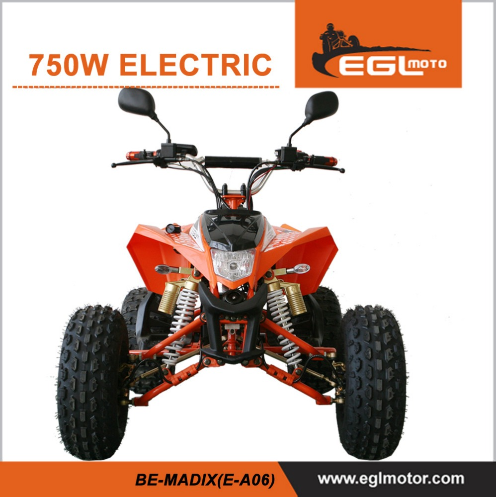 New BE-MADIX 750W Brushless shaft drive Motor 48V Electric ATV with CE certificate