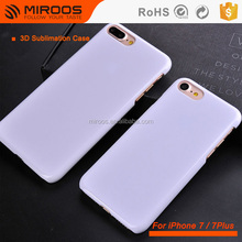 Heat Transfer Printing Blank 3D Sublimation Back Cover Case For iPhone 7 7 Plus Custom