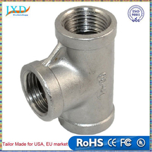 "New 1/2"" Tee 3 way Female Stainless Steel 304 Threaded Pipe Fitting NPT SA529 P50"
