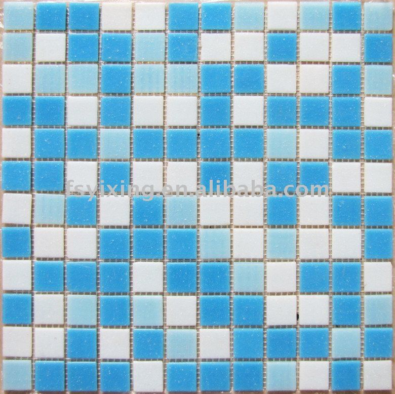 Ba o azulejo de mosaico para ba o y piscina pared for Mosaico para bano precios