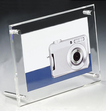 Desktop Clear Acrylic Photo Frame Picture Stand