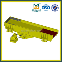 High Quality Vibrating Chute Feeder, Mineral Vibrating Feeder for Quarry