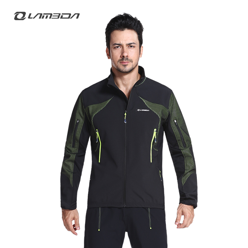 Lambda Professional Cycling Jackets Winter Windproof Jackets Customized