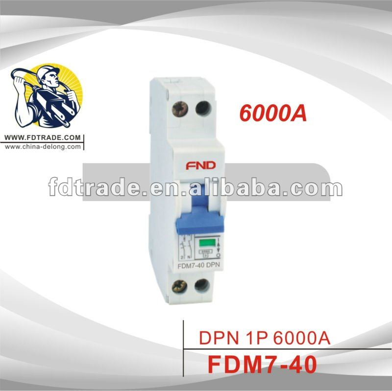 L7 6KA DPN MCB Mini Circuit Breaker