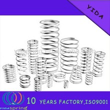 China factory supply excellent quality small stainless steel Compression Springs