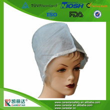 Non woven Surgeons Cap Disposable Surgical Doctor Cap for Medical Use