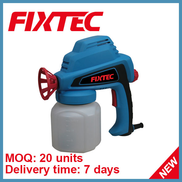 FIXTEC 80W spray gun 750ml electric spray gun paint