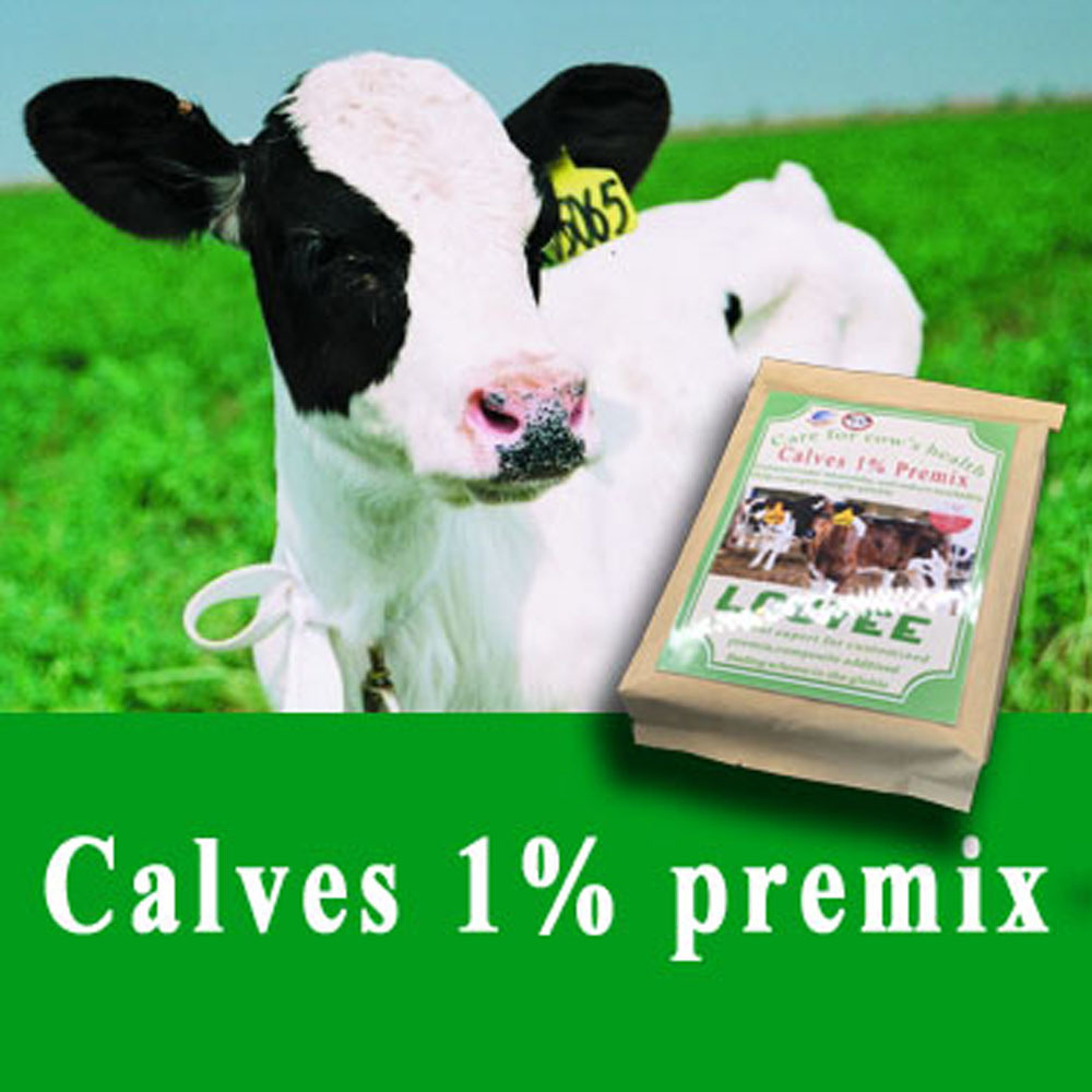 calf grower vitamin premix feed for cattle 0- 6months
