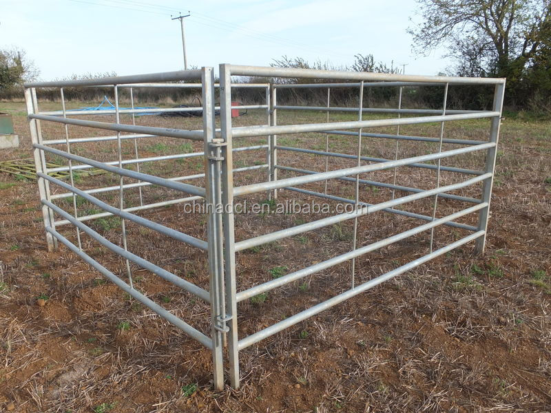 Oval cattle yard Panels