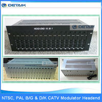 16 in 1 Head-end Modulator & 16 TV Channels Fixed Adjacent Modulator CATV Demodulator