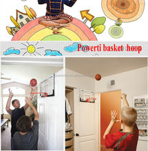new Lose weight sport Basketball Hoop Leisure Mini Indoor Backboard sets Over the Door Net Sports Ball Shot