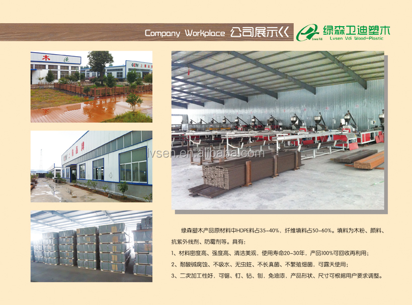Lvsen Vdi composite deck professional factory from North China