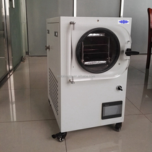 mini freeze drying machine for home use, 0.1 to 0.4 square meter fruits laboratory freeze dryer ,