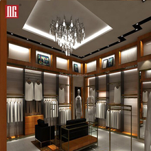 High End Display Showcase For Garment Shop Decoration Furniture