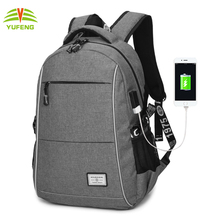 Customized New Design Women Men Laptop Computer Back pack USB Charging Warterproof Backpacks School Bags For Teenagers