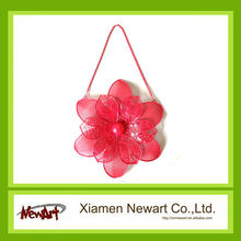 Flower shape wall arts metal wall flower decoration