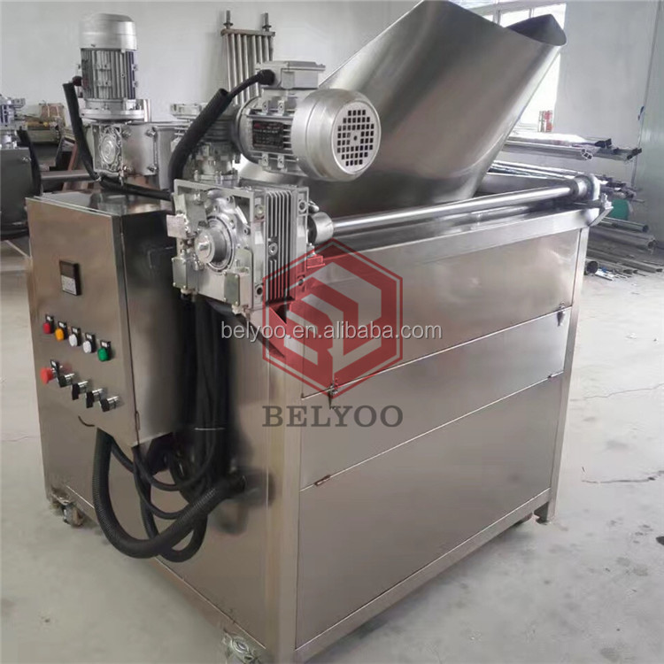 Automatic fried pork rind machine/stainless steel pork rind fryer Machine/hot selling pork rind frying machine