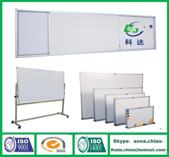 Non-glare Magnetic Office Glass White Writing Board Price
