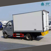 SINOTRUK CDW 3.5 Tons Dry Cargo Box Truck Van Mini Cargo Van For Sale