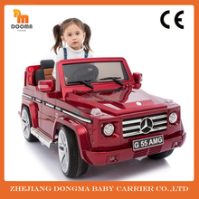 electric toy kid ride on car 12v with remote control authorization by Mercedes Benz from factory